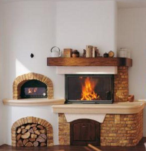 Camino con forno pizza mg53 regardsdefemmes - Caminetti con forno ...
